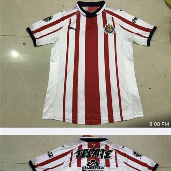 new product d0281 4f4d4 2018/2019 Chivas jersey NWT